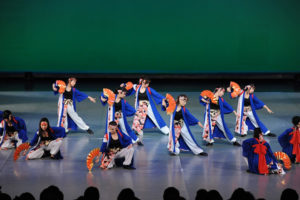 2015まほろば円舞会の様子1